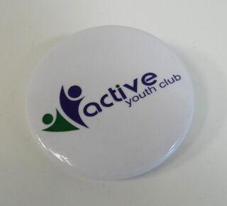 Logoga helkur - active youth club