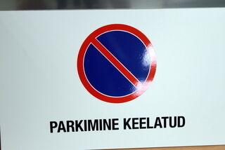 Parkimine keelatud kyltti