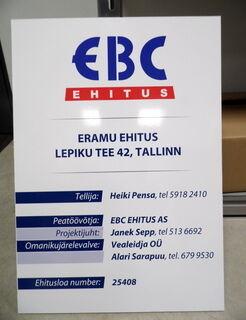 Kyltti EBC Ehitus