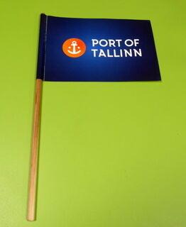 Käsilippu Port of Tallinn