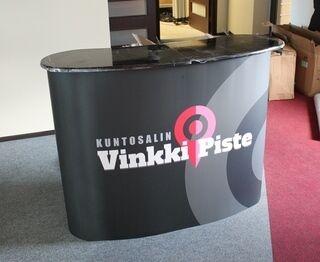 Iso messupöytä Vinkki Piste