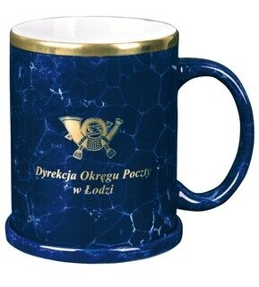 Logolla kahvikuppi