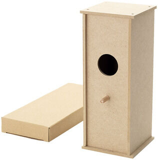 Build-your-own bird house