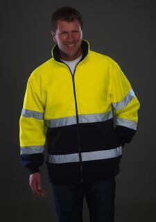 Hi-Vis 2-Tone Fleece Jacket