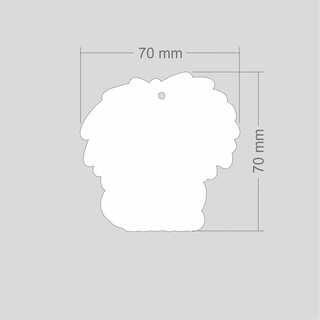 Helkur lõvi 70x70mm