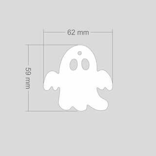 Helkur kummitus 62x59 mm